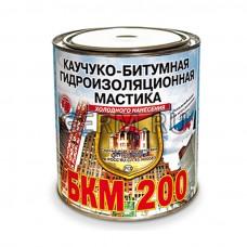 БКМ-200 каучуко-битумная антикоррозионная мастика холодного нанесения