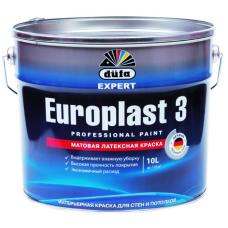 Dufa Premium Europlast 3 краска латексная интерьерная для стен и потолков