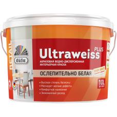 Dufa Retail Ultraweiss Plus водно-дисперсионная краска для внутренних работ