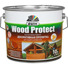 Dufa Wood Protect высокоэффективная декоративная пропитка для защиты древесины