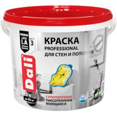 Dali Professional краска для стен и потолков акриловая