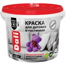 Dali краска для детских и гостиных гипоаллергенная износостойкая моющаяся
