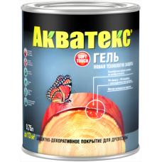 Акватекс Гель защитно-декоративное покрытие для древесины