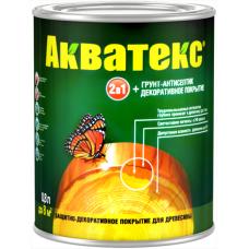 Акватекс защитно-декоративное текстурное покрытие для древесины