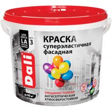 Краска Dali (Рогнеда) суперэластичная фасадная трещиностойкая антисептическая атмосферостойкая