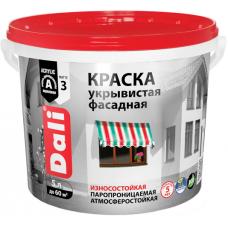 Краска Dali укрывистая фасадная износостойкая паропроницаемая атмосферостойкая