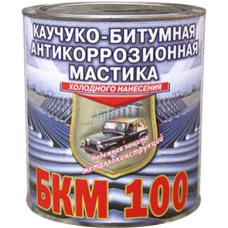 БКМ 100 каучуко-битумная антикоррозионная мастика холодного нанесения