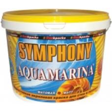 Aquamarina влагостойкая акриловая краска для стен и потолков