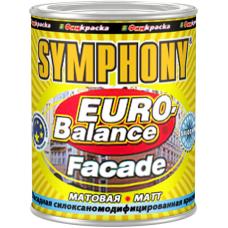 Euro-Balance Facade Siloxan фасадная силокcанмодифицированная краска водоразбавляемая