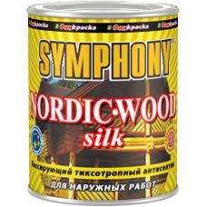 Nordic-Wood Silk лессирующий тиксотропный антисептик