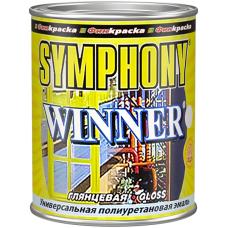 Winner универсальная полиуретановая эмаль антикоррозионная