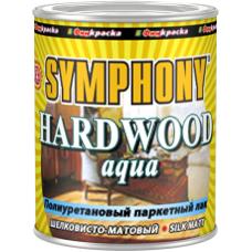 Hardwood Aqua полиуретановый паркетный лак покрывной