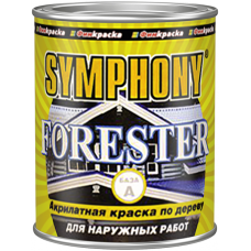 Forester акрилатная краска по дереву