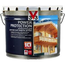 V33 Power Protection антисептик на алкидной основе для долговечной защиты дерева