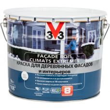 Facade Bois Climats Extremes краска для деревянных фасадов и интерьеров