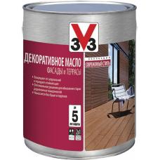 Декоративное масло V33 для фасадов и террас