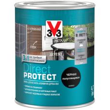 Эмаль V33 Direct Protect 3 в 1 для металла, дерева, алюминия, пвх