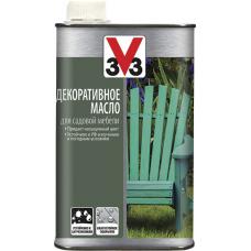 Декоративное масло для садовой мебели