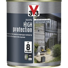 V33 (Модерн) High Protection. Лазурь на водной основе для дерева высокая степень защиты